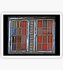 Reflections and Spiderweb Windows Sticker