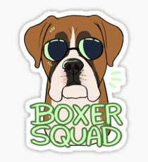 BOXER SQUAD Sticker