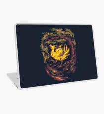 Chocobo with Blossoms Laptop Skin