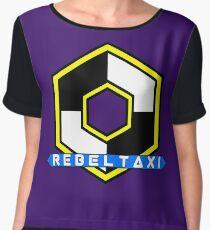 Rebel Taxi logo 3 Women's Chiffon Top