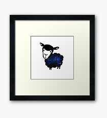 Black Sheep Nebula Framed Print