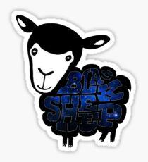 Black Sheep Nebula Sticker
