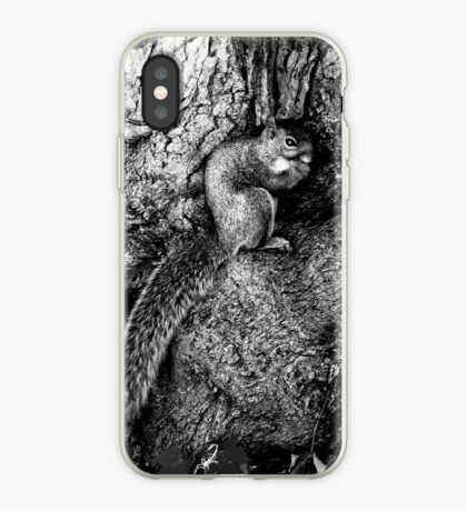 squirrel and the tree king iPhone Case
