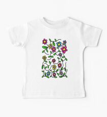Flowers for fun Baby Tee
