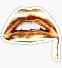Gold Metallic Sticker