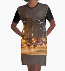 San Francisco Embarcadero Graphic T-Shirt Dress