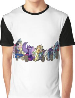 MARES OF HARMONY (ALL) (N/B) Graphic T-Shirt