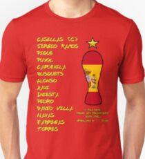 Spain 2010 World Cup Final Winners T-Shirt