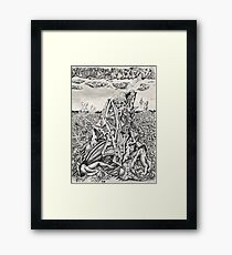 Intimidation by Brian Benson Framed Print
