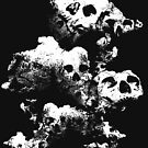 skull cloud by although