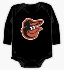 Redskins Orioles One Piece - Long Sleeve