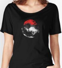 Pokeball Death Star Women's Relaxed Fit T-Shirt