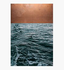 Ocean + Copper #redbubble #lifestyle Photographic Print