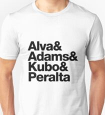 Alva & Adams & Kubo & Peralta Unisex T-Shirt