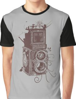 Retro Rolleiflex - Evolution of Photography - Vintage #2 Graphic T-Shirt
