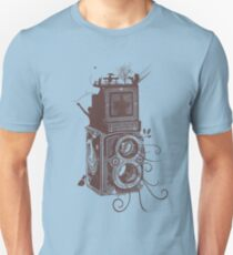 Retro Rolleiflex - Evolution of Photography - Vintage #2 Unisex T-Shirt