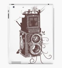 Retro Rolleiflex - Evolution of Photography - Vintage #2 iPad Case/Skin