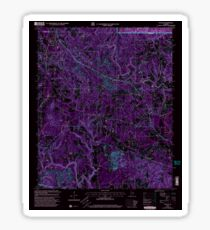 USGS TOPO Map Alabama AL Nauvoo 304652 2000 24000 Inverted Sticker