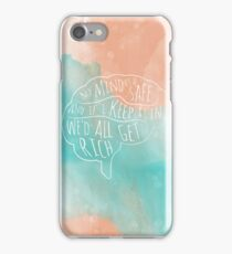 my mind is a safe iPhone Case/Skin