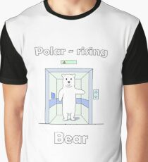 Polar - rising Bear Graphic T-Shirt