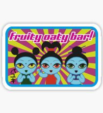 Fruity Oaty Bar! Shirt 2 (Firefly/Serenity) Sticker