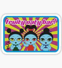 Fruity Oaty Bar! Shirt 2 (Firefly/Serenity) Sticker
