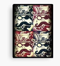 Steampunk Faces  Canvas Print