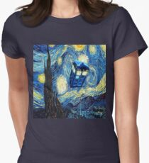 Van Gogh Women's Fitted T-Shirt