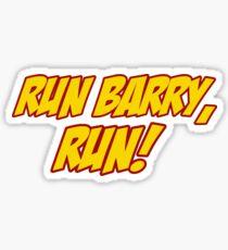 Run Barry, Run! Sticker