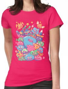 Slime Party!  Womens Fitted T-Shirt