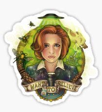 Believe Sticker