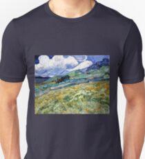 Vincent van Gogh Landscape from Saint-Remy T-Shirt