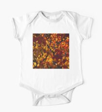 Colourful Sunny Autumn Patterns One Piece - Short Sleeve