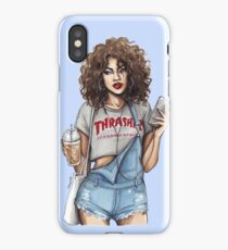 Thrasher Girl iPhone Case