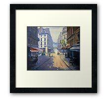Rue Mazarin, Paris, France Framed Print