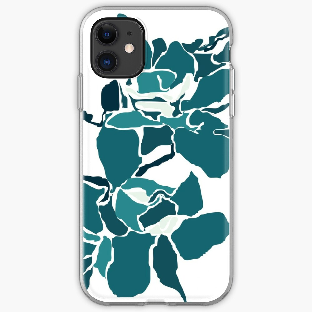 Orchards 2 in Teal iPhone Case & Cover