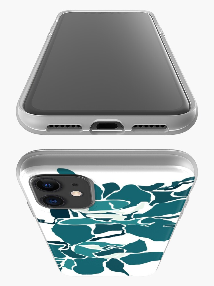 Alternate view of Orchards 2 in Teal iPhone Case & Cover