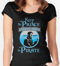 Keep The Prince, I'll Take The Pirate Women's Fitted Scoop T-Shirt