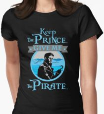 Keep The Prince, I'll Take The Pirate Women's Fitted T-Shirt