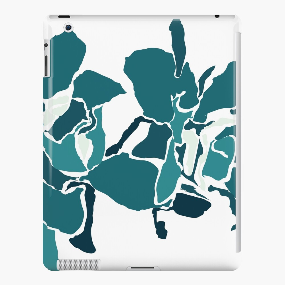 Orchards 2S in Teal  iPad Case & Skin