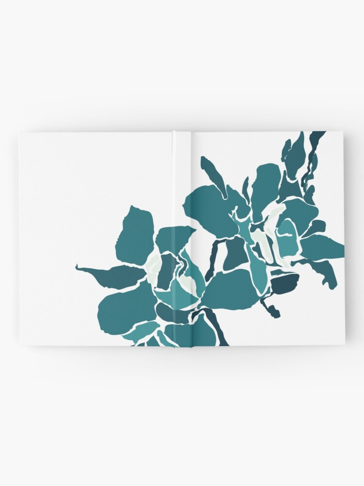 Alternate view of Orchards 2D in Teal Hardcover Journal