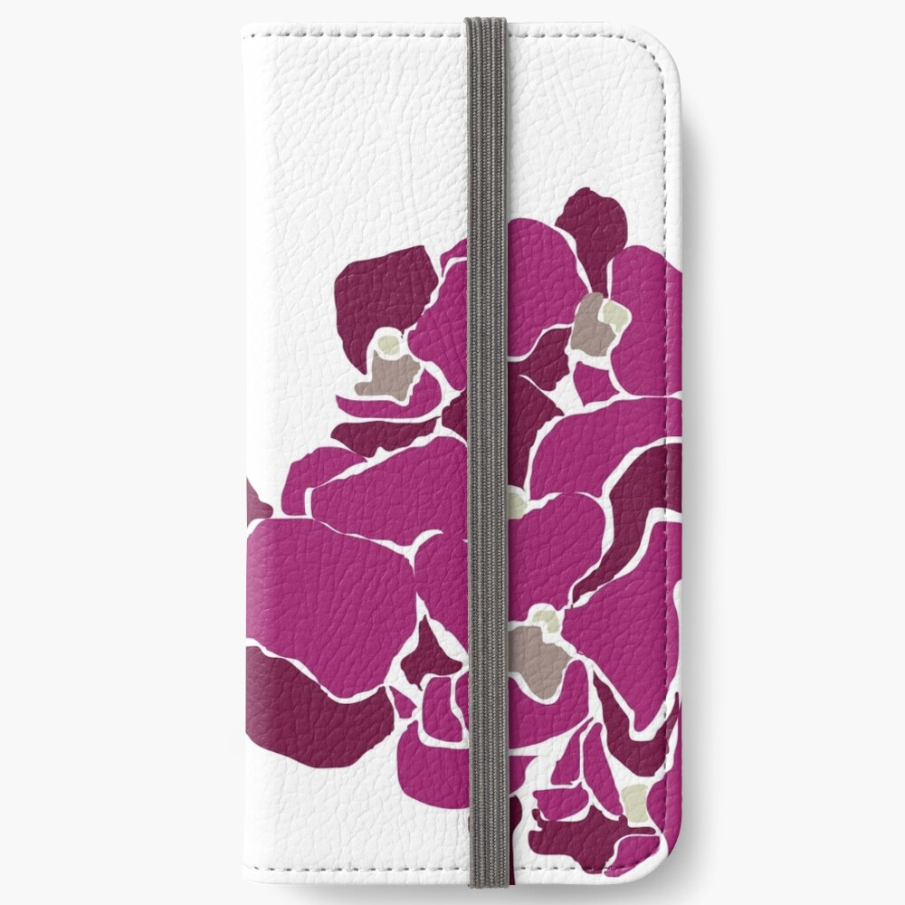 Orchards in Pink B iPhone Wallet