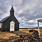 Black Church at Budir by Caleb Ward