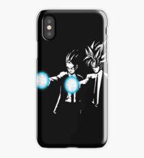 Gohan and goku action iPhone Case/Skin