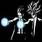 Gohan and goku action by Natgeoo
