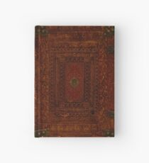 Rustic Engraved Leather Book Cover Design Hardcover Journal