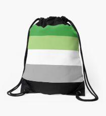 Aromantic Pride! Drawstring Bag