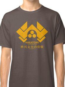 NAKATOMI PLAZA - DIE HARD BRUCE WILLIS (YELLOW) Classic T-Shirt