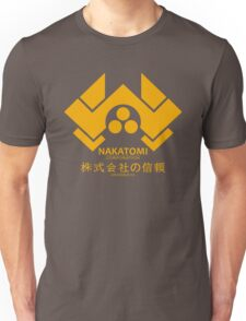 NAKATOMI PLAZA - DIE HARD BRUCE WILLIS (YELLOW) Unisex T-Shirt