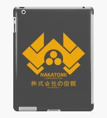 NAKATOMI PLAZA - DIE HARD BRUCE WILLIS (YELLOW) iPad Case/Skin